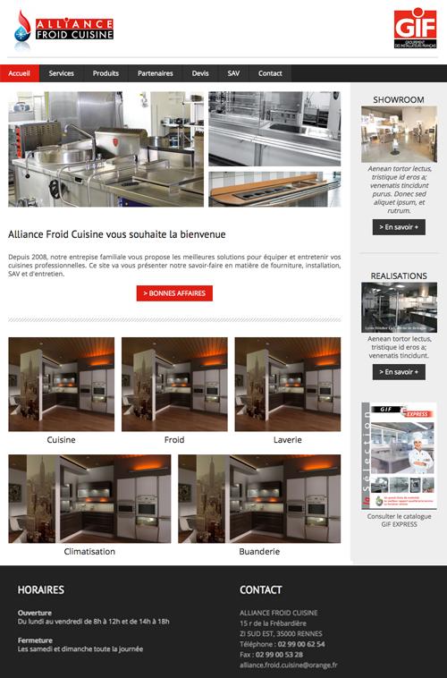 Cr er un site internet facilement digitaleo - Creer un site de cuisine ...